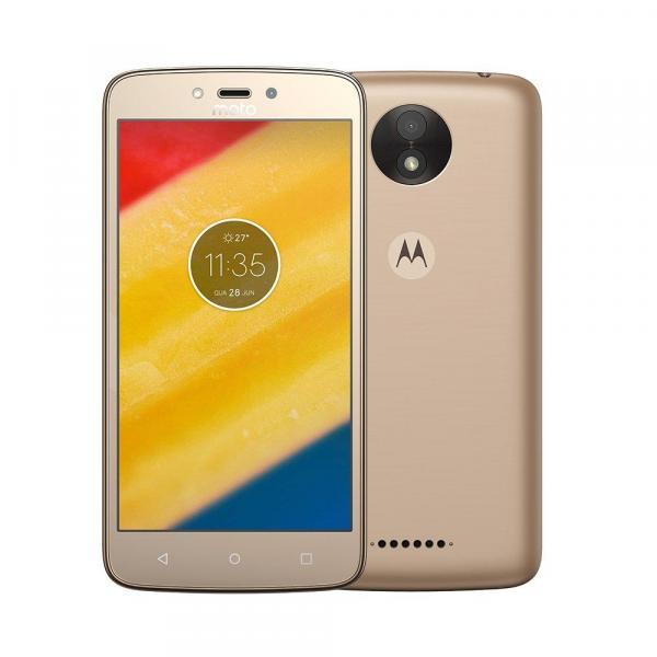 Smartphone Motorola Moto C Plus 16GB XT1726 Ouro