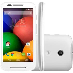 "Smartphone Motorola Moto e Desbloqueado Android 4.4 Tela 4.3"" 4GB 3G Wi-Fi Câmera 5MP - Branco"