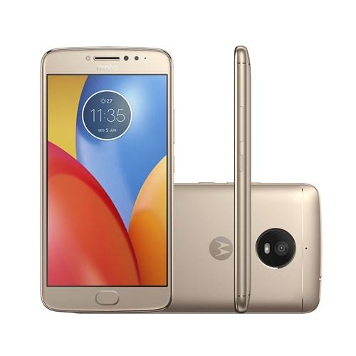 Smartphone Motorola Moto E4 Plus Dual Chip Android Quad-Core Tela 5.5' 16Gb 4G Câmera 13Mp Ouro
