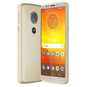 "Smartphone Motorola Moto E5 32GB Nano Chip Android Tela 5.7"" Qualcomm Snapdragon 425 4G Wi-Fi Câmera 13MP - Ouro"