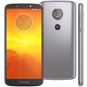 """Smartphone Motorola Moto E5 Quadcore Tela 5,7"""" 16GB 2GB RAM Câm 13MP + 5MP Cor Prata"""