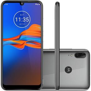 Smartphone Motorola Moto E6 Plus 32GB Dual 6.1`` 13MP - Cinza