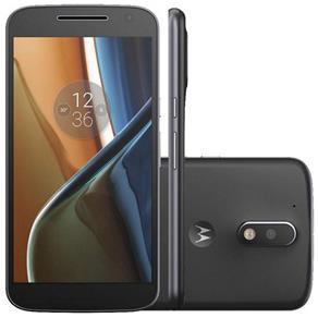 Smartphone Motorola Moto G 4 (Android 6.0, 16GB, 5.5pol, 16MP+5MP, 4G) - Preto