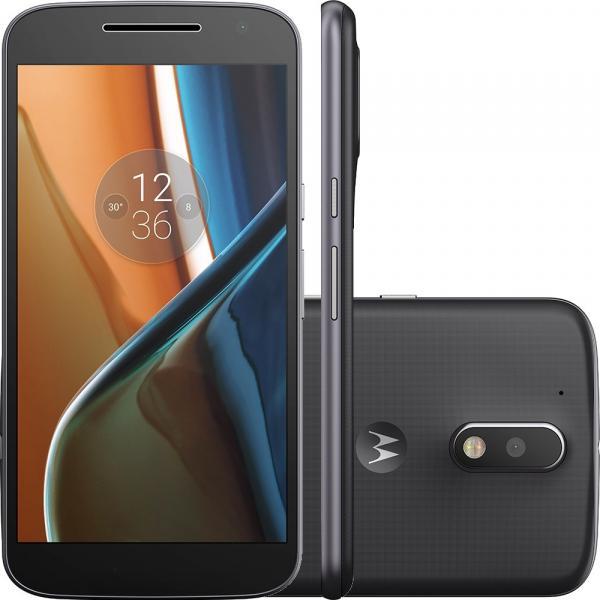 """Smartphone Motorola Moto G 4ª Geração Preto, Dual Chip, Tela 5.5"""", 16GB, Câm. 13MP, Android 6.0, DTV - Motorola"""