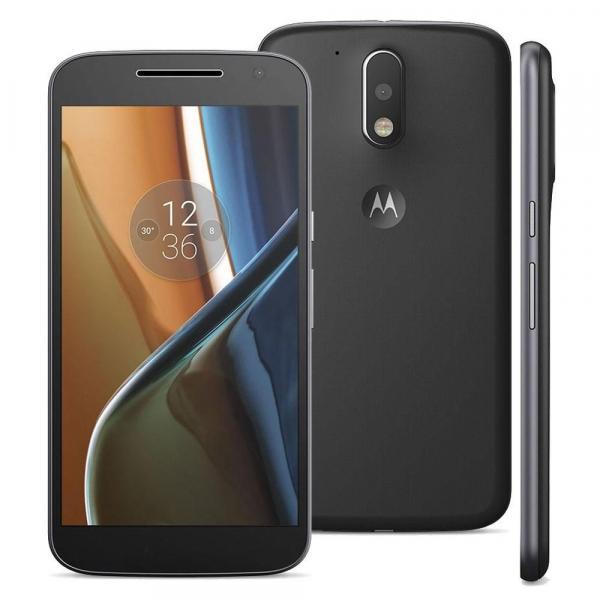 Smartphone Motorola Moto G 4 XT1626 TV, Dual Chip Android 6.0 Tela de 5.5 16GB, Câmera 13MP - Preto