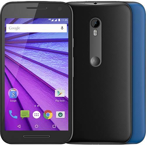 Smartphone Motorola Moto G 3ª Geração Colors Dual Xt1550 Desbloqueado Preto