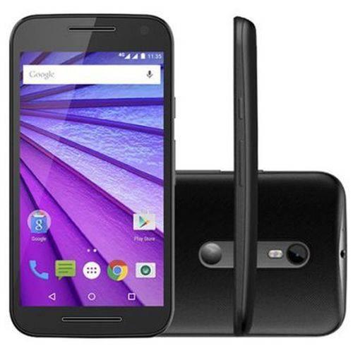 Smartphone Motorola Moto G 3° Geracao Xt1550 Dual Chip 16gb, 13mp - Preto/azul