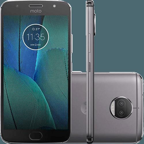 "Tudo sobre 'Smartphone Motorola Moto G5S Plus Dual Chip Android 7.1.1 Nougat Tela 5.5"" Snapdragon 625 32GB 4G 13MP Câmera Dupla - Platinum'"