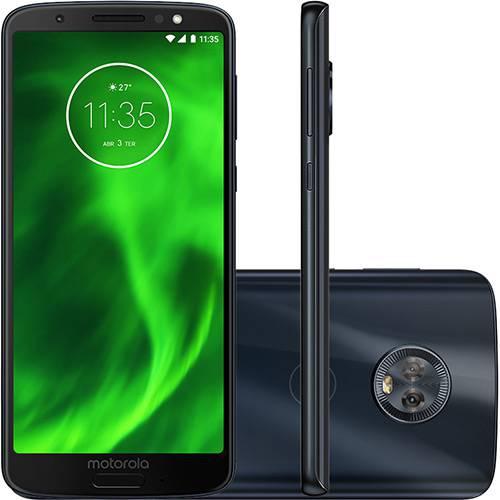 "Smartphone Motorola Moto G6 64GB Dual Chip Android Oreo Octa-Core Tela 5.7"" 4G Câmera 12 + 5MP"