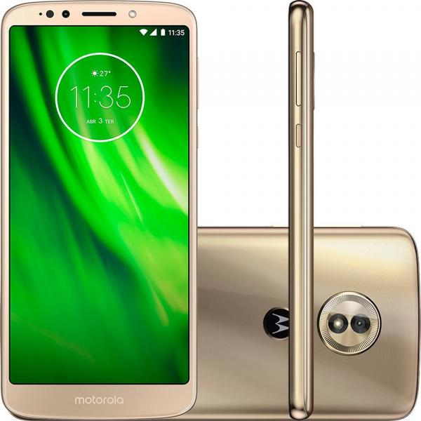 Smartphone Motorola Moto G6 Play 32gb 4g 13mp 5.7 - Ouro