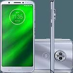 "Smartphone Motorola Moto G6 Plus 64GB Dual Chip Android Oreo - 8.0 Tela 5.9"" Octa-Core 2.2 GHz 4G Câmera 12 + 5MP (Dual Traseira) - Azul Topázio"