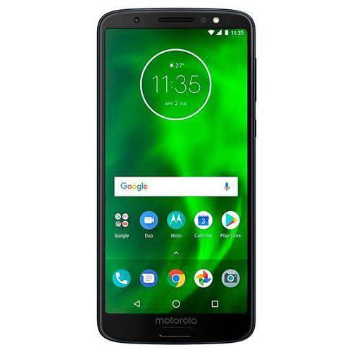 Smartphone Motorola Moto G6 Xt1925-1 32gb de 5.7 12+5mp-8mp os 8.0 - Azul