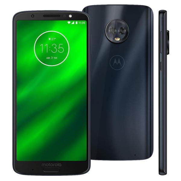 Smartphone Motorola Moto G6 XT1925-3 32GB 4G 5,7 Câmera Traseira Dupla de 12MP+5MP Índigo