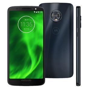 Smartphone Motorola Moto G6 XT1925 Índigo com 32GB, Tela de 5.7'', Dual Chip, Android 8.0, 4G, Câmera Traseira Dupla, Processador Qualcomm Snapdragon