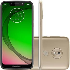 Smartphone Motorola Moto G7 PLAY SPEC EDITION XT1952-2, Android 9.0, 13MP, 5.7``, 32GB - Dourado