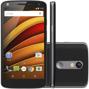 """Smartphone Motorola Moto X Forc"""", 4G Android 5.1 Processador Octa Core 64GB Camêra 21.0MP Tela 5."""", Preto"""