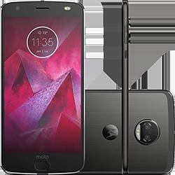 "Smartphone Motorola Moto Z2 Force Dual Chip Android 7.1 Nougat Tela 5.5"" Octa-Core 64GB 6GB RAM 4G Câmera Dupla 12MP - Preto"