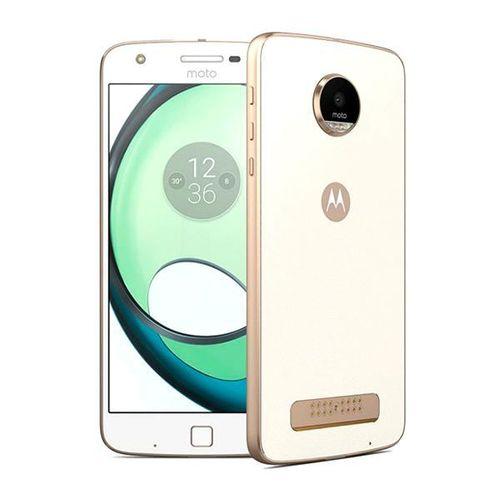 "Smartphone Motorola Moto Z Play Xt1635-02 Ds 32gb 5.5"" 16/5mp os 6.0.1 - Branco/dourado"
