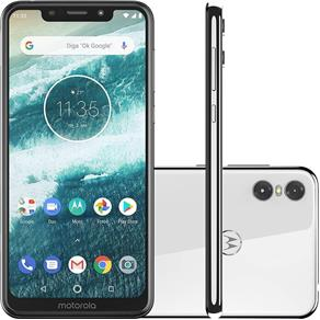 Smartphone Motorola One 64GB Tela 5.9 Câmera 13MP
