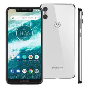 Smartphone Motorola One XT1941 64GB Android 8.1 Processador Octa-Core e 4GB de RAM
