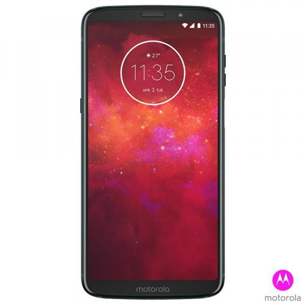 Smartphone Motorola Z3 Play Dual Chip Android 8.0 Tela 6 128GB 4G Câmera 12MP+5MP Dual Cam