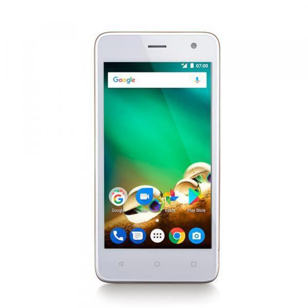 Smartphone MS45 Quad Core 8GB Tela 4.5 Android 7.0 Golden NB271 Multilaser