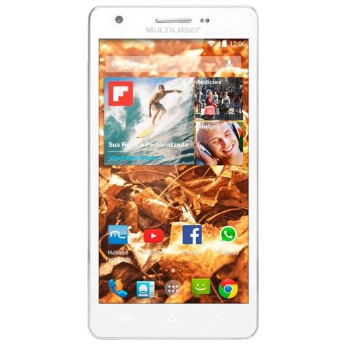 Tudo sobre 'Smartphone Ms6 com Tela 5,5pol Dual Chip Android 4.4câmera 8mp Multilaser P3313'