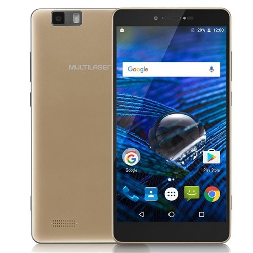 Smartphone Ms70 4G Dual Chip Android 6.0 Tela 5,85' Octa-Core 64Gb Dua