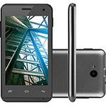 "Smartphone Multilaser MS40 Dual Chip Android Tela 4"" 4GB 3G Câmera 5MP - Preto"