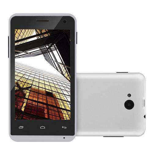 Smartphone Multilaser Ms40s Branco 4pol Câmera 3 Mp + 5 Mp 3g Quad Core 8gb Android 6.0 - Nb252