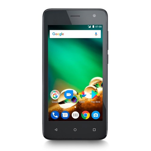 "Smartphone Multilaser MS45, 8GB, Tela 4.5"", Câmera 8MP, Dual Chip, Android 7.0 - Preto"