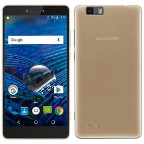 "Smartphone Multilaser MS70, 5.8"", 4G, Android 6.0, 16MP, 32GB - Dourado"