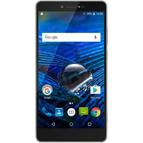 Smartphone Multilaser MS70 Dual Chip, Prata, Tela 5.8', 4G+WiFi Android 6.0, 16MP, 32GB