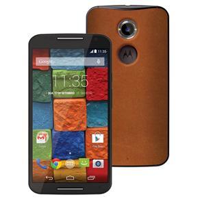 Smartphone Novo Moto X™ Vintage 32GB, com Tela de 5.2'', Android 4.4, Wi-Fi, 4G, Câmera 13MP e Processador Quad-Core de 2,5 GHz