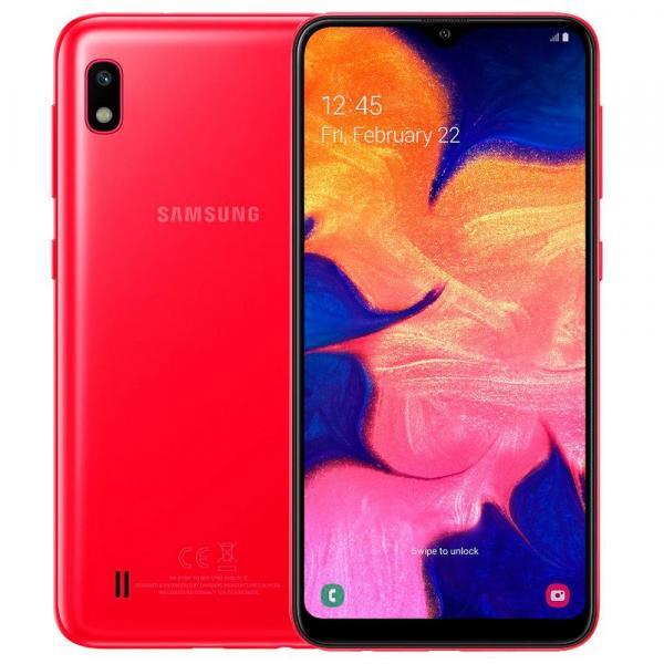 "Smartphone Samsung Galaxy A10, Vermelho, A105M, 6,2"", 32GB, 13MP+5MP"