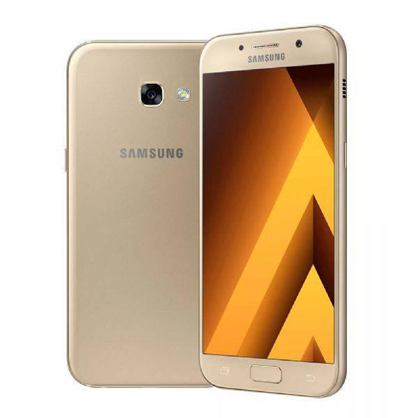 "Smartphone Samsung Galaxy A5 2017, Dourado, A520F, Tela de 5.2"", 32GB, 16MP"