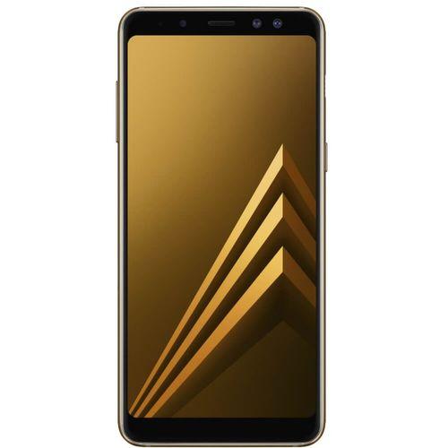 Smartphone Samsung Galaxy A8 Dourado Dual Chip 64GB Tela de 5,6 Câmera de 16MP