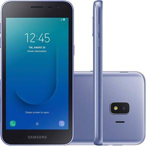 "Smartphone Samsung Galaxy J260M J2 Core, Dual Chip, 5"", Android 8.1, 16GB, 8MP, 4G - Prata"