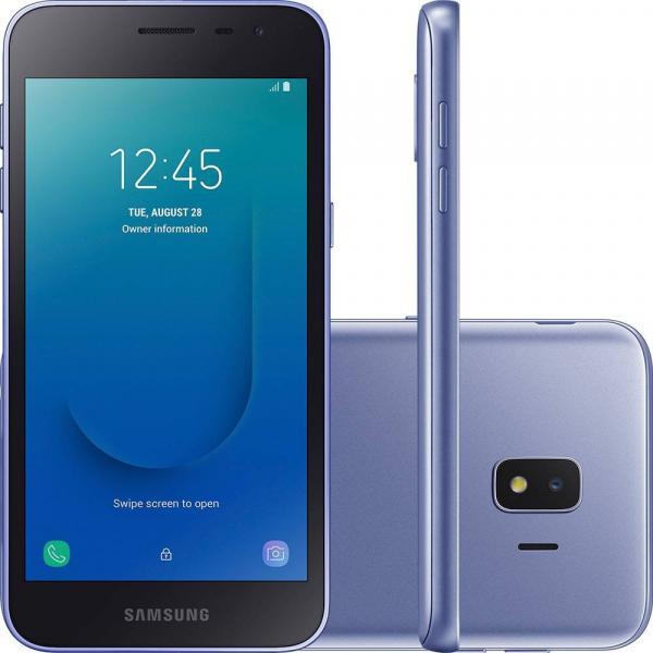 Smartphone Samsung Galaxy J2 Core 16GB Dual Chip Tela 5 Pol 4G - Prata