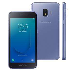 """Smartphone Samsung Galaxy J2 Core Prata com 16GB, Tela 5"""", Câmera Traseira 8MP com Flash LED, Android Go 8.1, Dual Chip, 4G, e Processador Quad Core"""