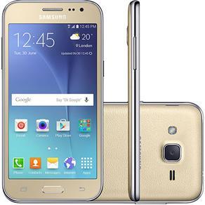 Smartphone Samsung Galaxy J2 J200 Tela 4.7 8GB - Dourado