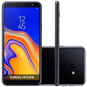 "Smartphone Samsung Galaxy J4 Core SM-J410G, 4G Android 8.1 16GB Quad Core Câmera 8.0 MP Tela 6.0"", Preto"