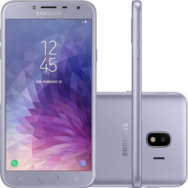 "Smartphone Samsung Galaxy J4 32GB 5.5"" 13MP Prata"