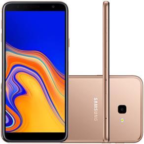 Smartphone Samsung Galaxy J4+ 32GB Dual Chip Tela 6`` Câmera 13MP 5MP Android 8.1 Cobre