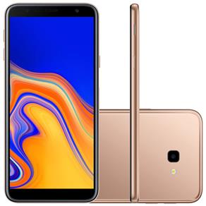Smartphone Samsung Galaxy J4+ SM-J415G, Dual Chip Android 8.1 32GB Quad Core Câmera 13MP+5MP Tela 6.0, Cobre