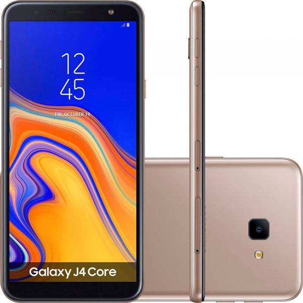"""Smartphone Samsung J4 Core, Cobre, J410M, Tela de 6"""", 16GB, 8MP"""