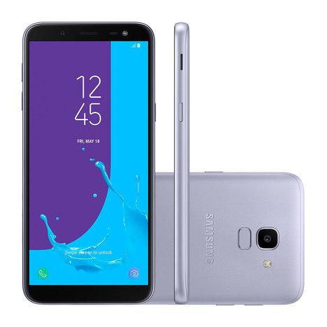 Smartphone Samsung J6 Prata 32 Gb