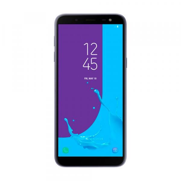 "Smartphone Samsung J6 TV, Prata, J600GZ, Tela de 5.6"", 64GB, 13MP"