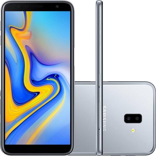 Smartphone Samsung J610G Galaxy J6+ Prata 32 GB