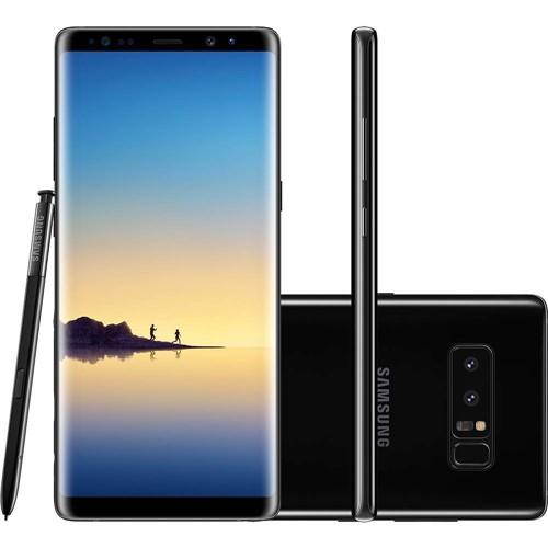 Smartphone Samsung N950F Galaxy Note 8 Preto 128 GB